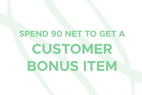 Customer Bonus Item